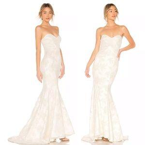 NWT MICHAEL COSTELLO Strapless Wedding Dress